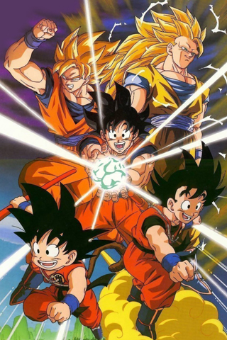 Dragon Ball Z iPhone Wallpaper