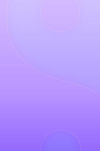 Purple Ying Yang iPhone Wallpaper