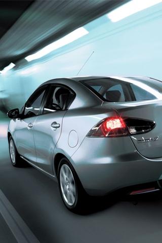 Mazda 2 Sedan iPhone Wallpaper