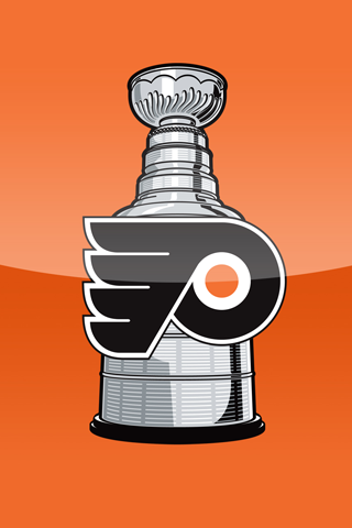 Philadelphia Flyers Cup IPhone Wallpaper