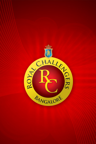 Bangalore Royal Challengers iPhone Wallpaper