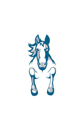 Indianapolis Colts Logo IPhone Wallpaper