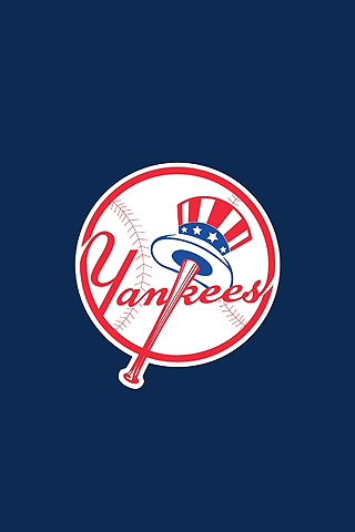 New York Yankees Logo iPhone Wallpaper