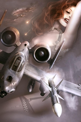 Warhawk Missile iPhone Wallpaper