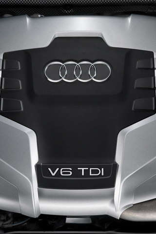 Audi V6 TDI Engine iPhone Wallpaper