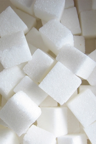 Sugar Cubes iPhone Wallpaper