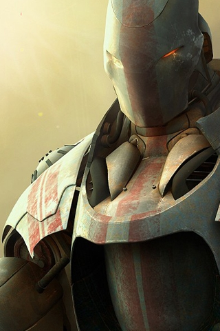 Angry Robot iPhone Wallpaper