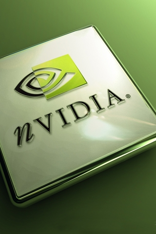 Nvidia Logo iPhone Wallpaper