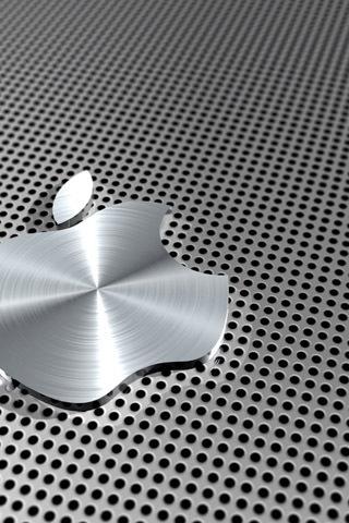 Titanium Apple iPhone Wallpaper