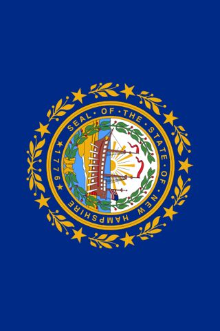 Seal of The State of New Hampshire iPhone Wallpaper