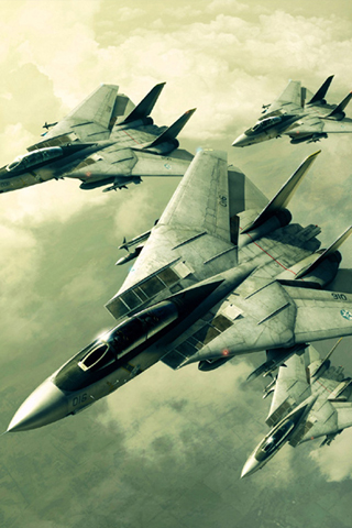 Military Fighter Jets iPhone Wallpaper