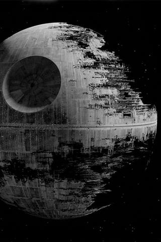 Star Wars - Death Star iPhone Wallpaper