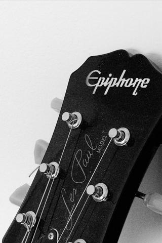 Guitar iphone wallpaper idesign iphone - Epiphone les paul wallpaper ...