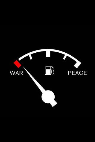 War x Peace iPhone Wallpaper