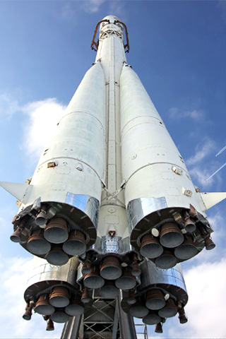 Rocket Boosters iPhone Wallpaper