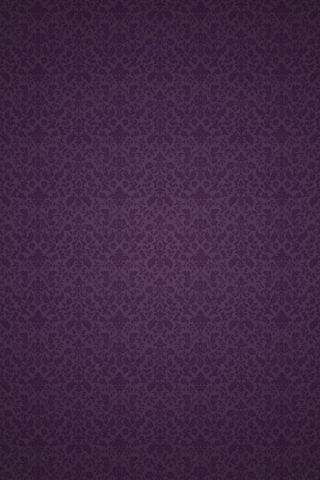 Purple Victorian Pattern iPhone Wallpaper