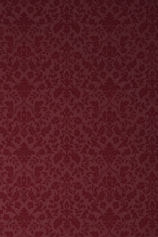 Burgandy Victorian Pattern iPhone Wallpaper