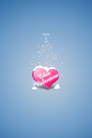 This Valentine iPhone Wallpaper