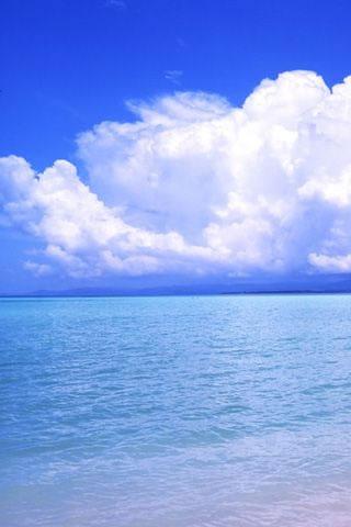 Open Water iPhone Wallpaper