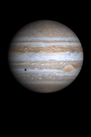 Jupiter iPhone Wallpaper