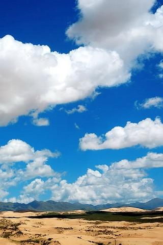 Beautiful Cloudy Day iPhone Wallpaper