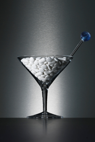 Suicide Martini iPhone Wallpaper