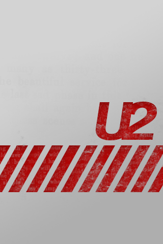 U2 Logo iPhone Wallpaper
