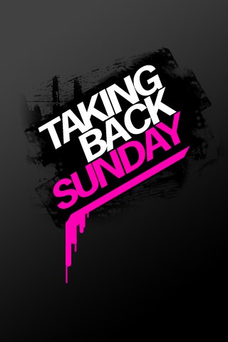 Taking Back Sunday iPhone Wallpaper