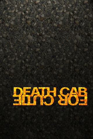 Death Cab For Cutie iPhone Wallpaper