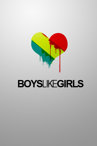 Boys Like Girls iPhone Wallpaper