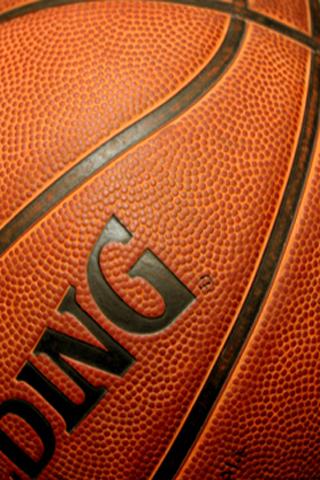 basketball ball wallpaper. Spalding Basketball Closeup