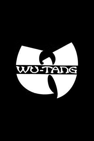 Wu Tang Logo iPhone Wallpaper