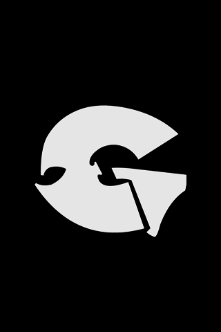 Gza Logo iPhone Wallpaper