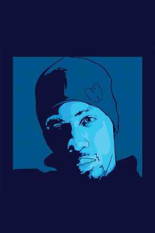 Wu Tang - Inspectah Deck iPhone Wallpaper