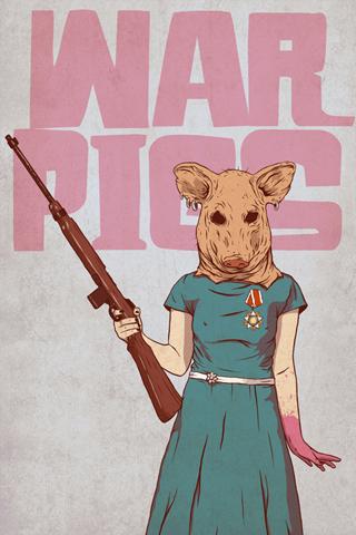War Pigs iPhone Wallpaper