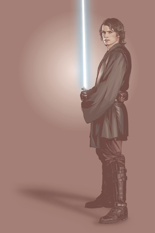 Anakin Skywalker - Episode 3 iPhone Wallpaper