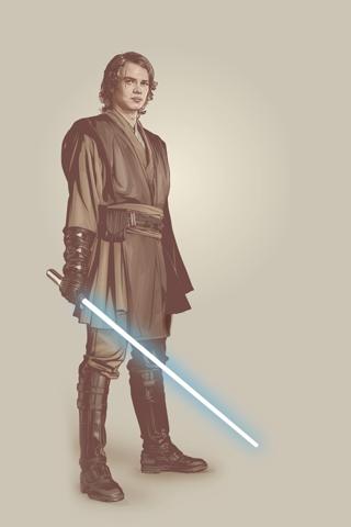 Anakin Skywalker - Star Wars Episode 3 iPhone Wallpaper