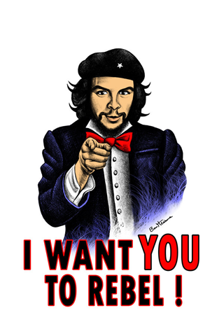 Che Guevara iPhone Wallpaper