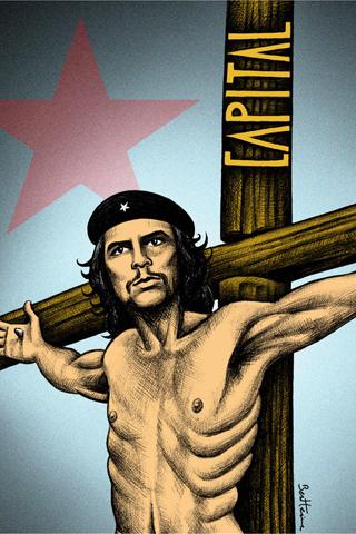 Che Guevara - Capital iPhone Wallpaper