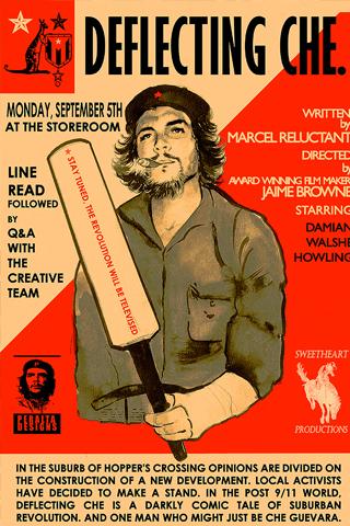 Deflecting Che Guevara iPhone Wallpaper