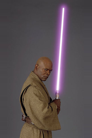 Mace Windu - Star Wars iPhone Wallpaper