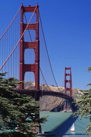 San Francisco Bay Bridge iPhone Wallpaper