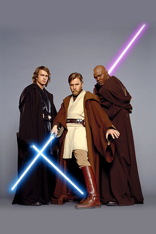 Star Wars Jedis iPhone Wallpaper