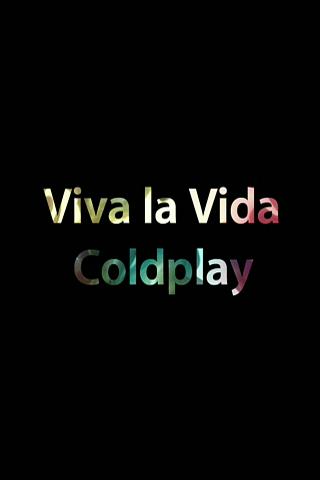 Coldplay - Viva La Vida iPhone Wallpaper