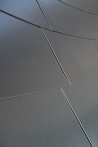 Metallic Wall Panels iPhone Wallpaper