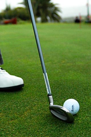 Golf Club Ball IPhone Wallpaper