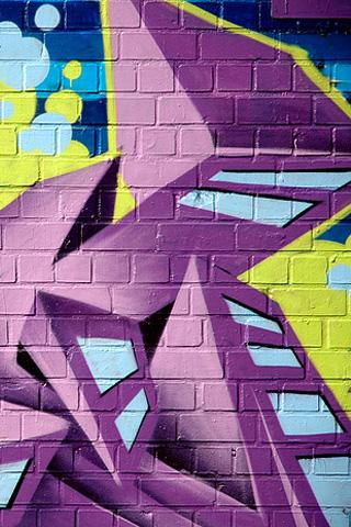 Street Graffiti iPhone Wallpaper