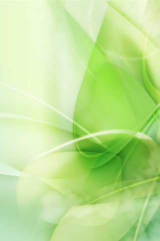 Abstract Green Texture iPhone Wallpaper
