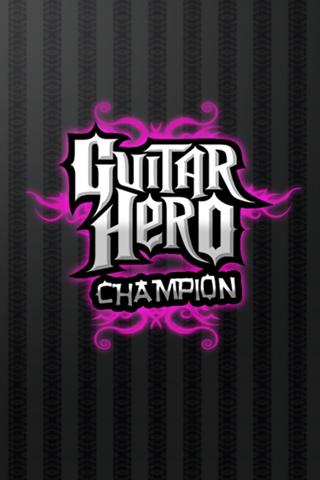 Guitar Hero Champion Logo iPhone Wallpaper