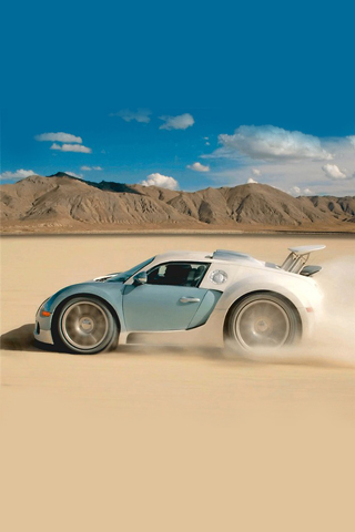 Baby Bugatti Veyron iPhone Wallpaper